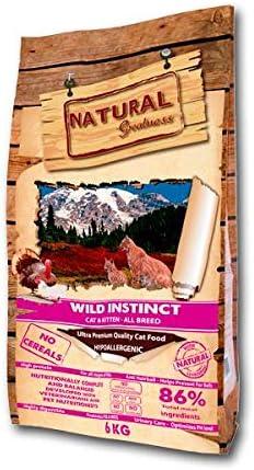 Natural Greatness Receta Wild Instinct 6 Kg