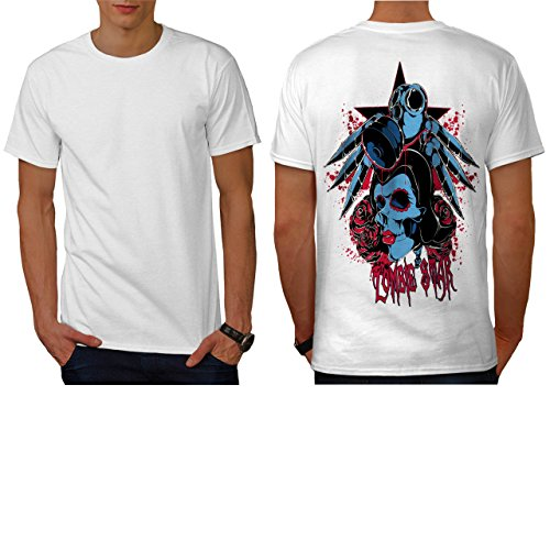 Evil Zombie Star Rise Nightmare Men NEW S T-shirt Back | Wellcoda (Love Bite Vampire Costume)