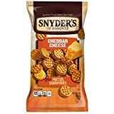 snyders cheese pretzels - Snyder's of Hanover Pretzel Sandwiches, Cheddar Cheese, 8 Oz