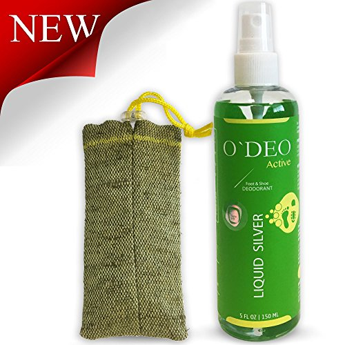 Organic Natural Shoe Deodorizer - Foot Spray - Running Shoe