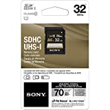 Sony 32GB Class 10 UHS-1 SDHC up to 70MB/s Memory Card (SF32UY2)