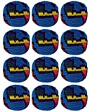 Set of 12 Hacky Sacks - Globe