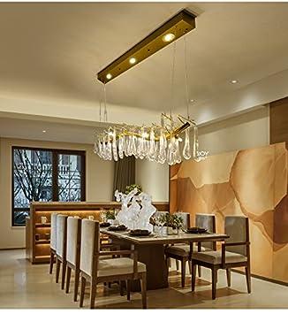 Postmodern Esszimmer Wohnzimmer Bar Designer Kristall Pendelleuchte Villa Wohnzimmer  Französisch Kunst Zweig Pendelleuchte Ya813 ( Size