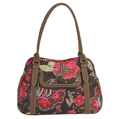 Oilily Paisley Flower M Carry All Brown