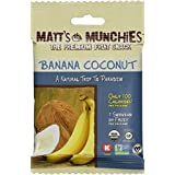 "Matt's Munchies Organic Fruit Snack (1-Ounce Bag), Banana Coconut, 12 Pack by Matt""s Munchies"