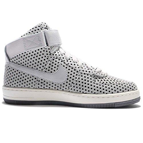 Zapatillas Mujer Nike Af1 Ultra Force Mid - Mujer Zapatillas De Baloncesto Pure Platinum / Pure Platinum