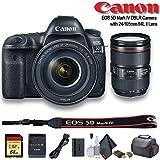 Canon EOS 5D Mark IV DSLR Camera with 24-105mm f/4L II Lens (International Model) (1483C010) - Starter Bundle
