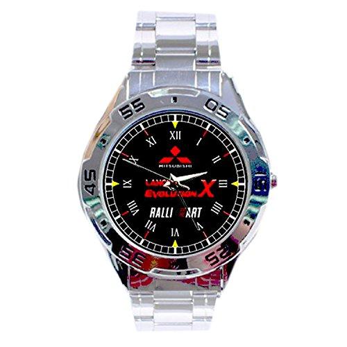 mrzk130-new-rare-mitsubishi-lancer-evolution-x-ralliart-custom-mens-chrome-watch