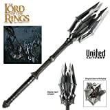 United Cutlery Hobbit Resin Mace Of Sauron with Display
