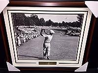 Ben Hogan Famous 1 Iron Shot 1950 Us Open Champion 16x20 Photo Framed