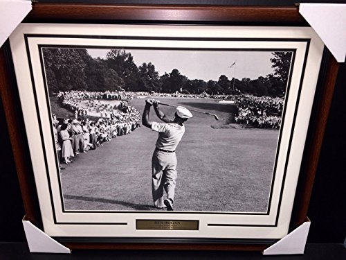 BEN HOGAN FAMOUS 1 IRON SHOT 1950 US OPEN CHAMPION 16X20 PHOTO FRAMED