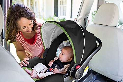 Graco SnugRide 30 Click Connect Infant Car Seat, Bear Trail