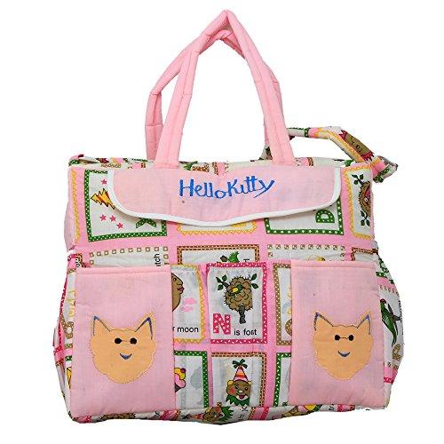 Kuber industrias bolsa de pañales, bolsa de cambiar pañales, bolsa de la Mamma (Hello Kitty)