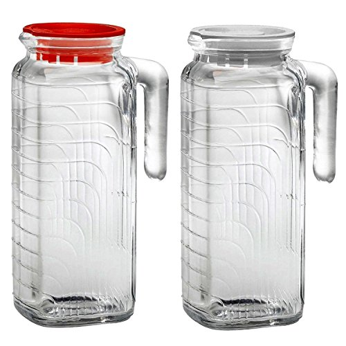 glass jug with sealed lid - 5