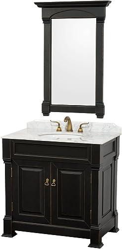 Wyndham Collection Andover 36 inch Single Bathroom Vanity