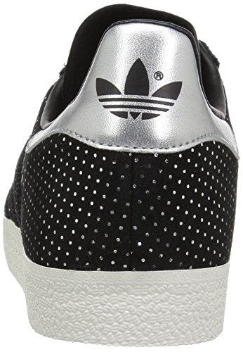 Fitness Homme Adidas Gazelle black De Chaussures silver Metallic Black 7FxUSzqxw