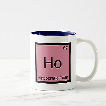 Amazon Zazzle Ho Hippocratic Oath Chemistry Element Symbol