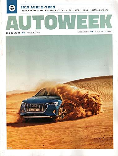 Autoweek Magazine April 8, 2019 | Audi E-Tron