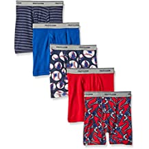 Fruit of the Loom Boys' Boxer Brief (Pack of 5)