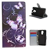 """Acer Liquid Z410 , ivencase Novelty Fashion Fresh Cool Attractive Wallet Magnetic Style PU Leather Flip Stand Soft Case Cover Fit Suitable for Acer Liquid Z410 + One """"ivencase """" Anti-dust Plug Stopper"""
