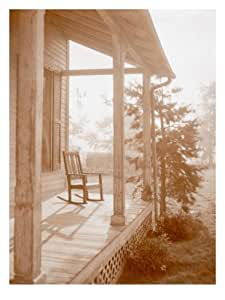 Country Days - Rocking Chair Porch Wall Decal 18 x 24 in