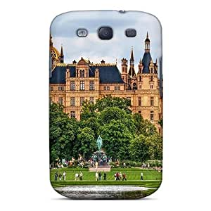 Premium Majestic Schwerin Castle In Germany Hdr Back Cover Snap On Case For Galaxy S3