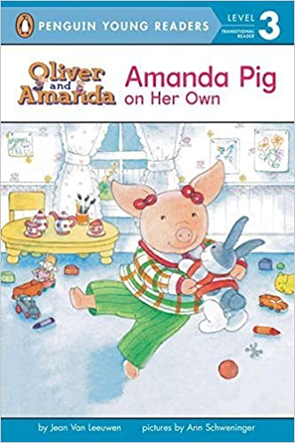 Book Amanda Pig on Her Own (Puffin Easy-to-Read, Level 3) by Jean Van Leeuwen (1994-10-01)