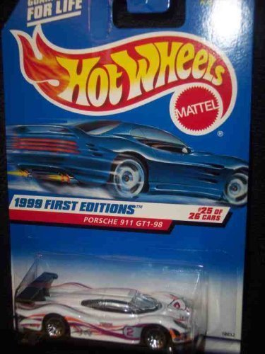 1999 First Editions - 25 Porsche 911 GTI-98 1:64 Scale Collectible Die Cast Car  676 by Hot Wheels