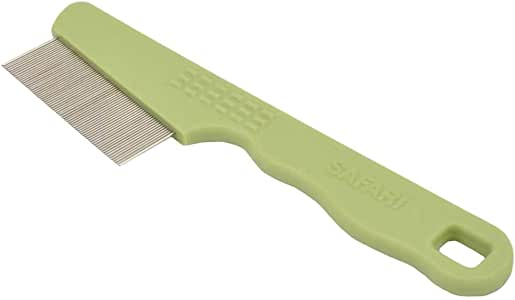 Safari Flea Comb for Cats, Green