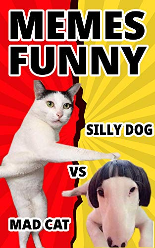 Amazoncom Memes Super Funny Mad Cat Vs Silly Dog Meme