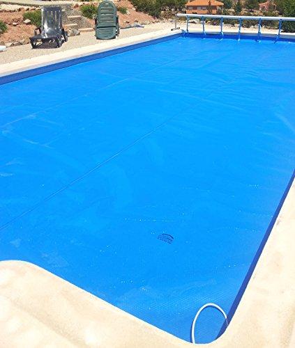 International International International Cover Pool Boîtier piscine été GeoBubble 700 microns avec renfort de polyéthylène pour famille piscine de 4 x 4 mètres (avec renfort en tout le contour). 4x5metros 05b8ca