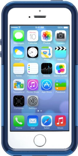 OtterBox COMMUTER SERIES Case for iPhone 5/5s/SE - Frustration Free Packaging - NIGHT SKY (OCEAN/NIGHT BLUE) (Discontinued by Manufacturer)