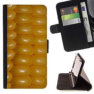 For Samsung Galaxy J1 J100 Case , Cultivos Agricultura Amarillo Campo Campo- la tarjeta de Crédito Slots PU Funda de cuero Monedero caso cubierta de piel