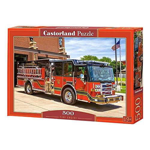 (Castorland Puzzle Fire Engine 500 Pieces)