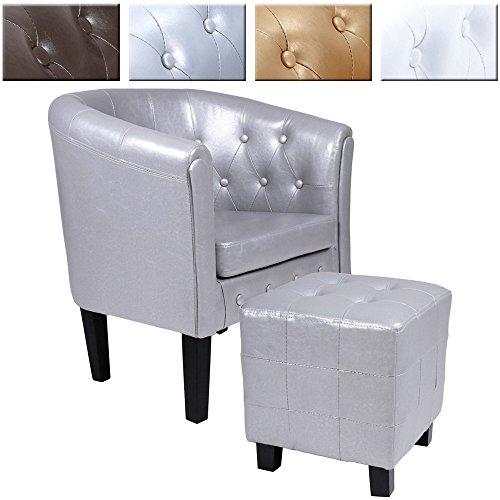 Chesterfield-Sessel-Sitzhocker-Set-Lounge-Mbel-Farbwahl