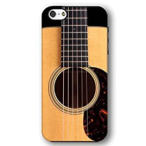 Classic Guitar Six String Acoustic Open Body For HTC One M7 Case Cover Armor Phone Case