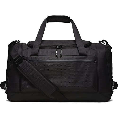 NIKE Departure Golf Duffel Bag, Black