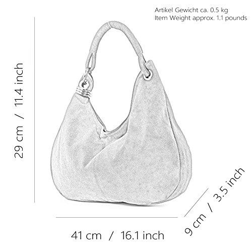 Borsa Vera Tracolla Mano Italiana Donna A Shopping Bag In rosso Rosso T02 Pelle r0Erqw5