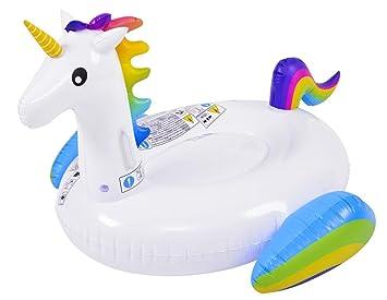 GLOBO Unicornio 132x110x78cm Brazaletes y flotadores ...