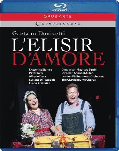 Donizetti: L'elisir d'amore - featuring The Glynedbourne Chorus and London Philharmonic Orchestra [Blu-ray]