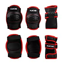 Sports Protective Gear safety pad Safeguard (Knee Elbow Wrist) Support Pad Set equipment for Kids roller bicycle BMX bike skateboard extreme sports bogu protector Guards Pads