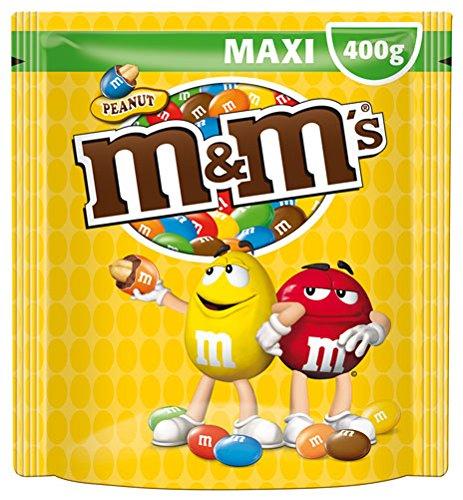 M&M's Maxi Erdnuss, Standbeutel - 400gr