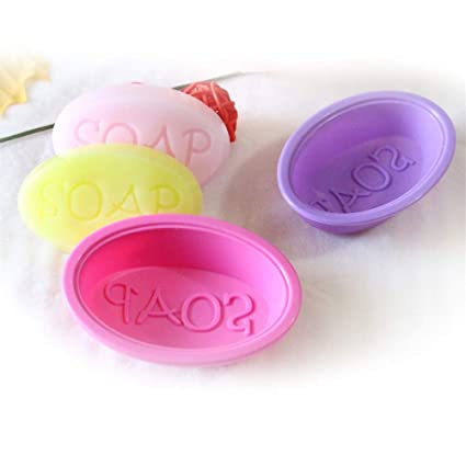 Soap Molds - 1pc Silicone Ice Cube Candy Chocolate Cupcake Cake Cookie Soap Molds Mould 7.7