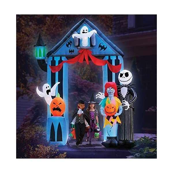 Halloween 9 Nightmare Before Christmas Archway With Jack