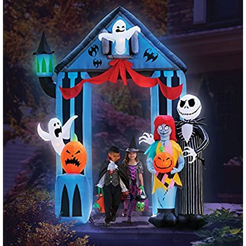 gemmy halloween 9 nightmare before christmas archway - The Nightmare Before Christmas Decorations