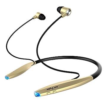 Auriculares Bluetooth Sport Neckband ZEALOT H7 V4.1 auriculares inalámbricos Auriculares magnéticos estéreo Auriculares con cancelación de ruido Auriculares ...