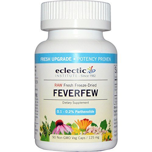 Eclectic Feverfew 125 Mg Cog Fduv, Blue, 90 Count