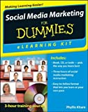 img - for Social Media Marketing eLearning Kit For Dummies by Phyllis Khare (2012-03-09) book / textbook / text book