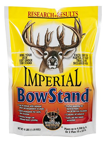 Whitetail Institute Imperial BowStand Food Plot Seed (Fall Planting), 4-Pound (4,500 sq. ft.)