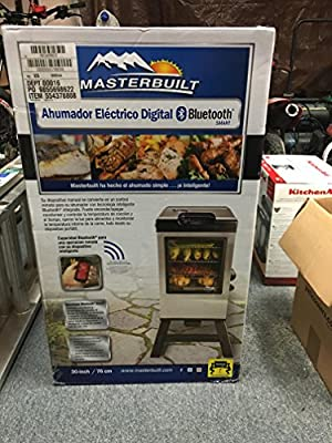 Masterbuilt Bluetooth Smart Digital Electric Smoker 20072715
